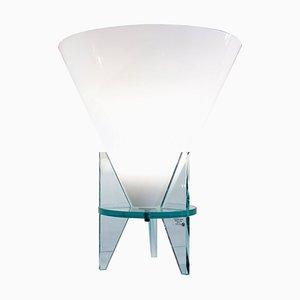 Lámpara de mesa modelo Otero vintage modelo 2748 de R. Dordoni para Fontana Arte, 1984