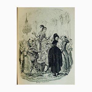 George Cruikshank - Die Geschichte von Amelia - Illustrated Book - 1832