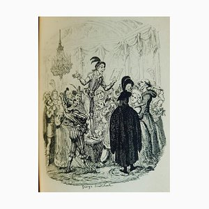 George Cruikshank - The History of Amelia - Illustrated Book - 1832