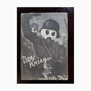Otto Dix - Der Krieg - Illustrated Book - 1924