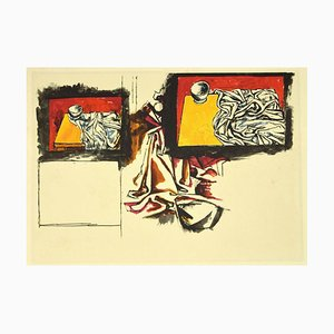 Renato Guttuso, Still-Life 01, Offset Print, 1980s