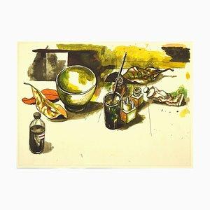 Renato Guttuso, Still-Life 02, Offset, 1980s