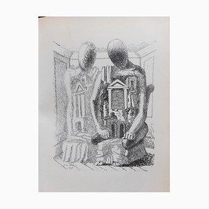 Giorgio De Chirico - Le Mystère Laic - Illustriertes Buch - 1928