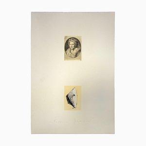Franco Sarnari, Portrait, Vintage Offset Print, 1970s