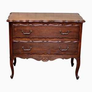 French Solid Oak Chest of Drawers