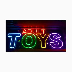 Adult Toys, New York - Neon Color Street Photograph, 2017
