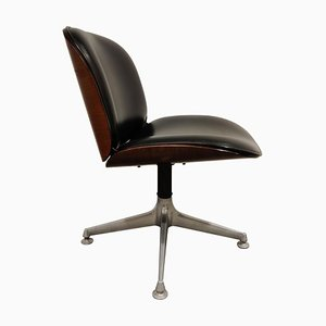 Mid-Century Swivel Chair or Desk Chair by Ico Parisi for Mim Italy, 1960s