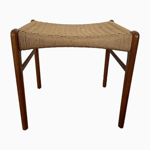 Mid-Century Danish Teak Stool from Glyngore