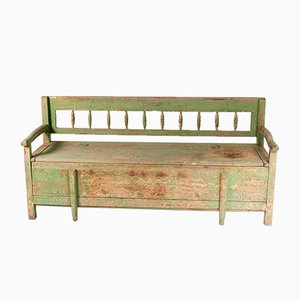 Farmhouse Bench with Storage