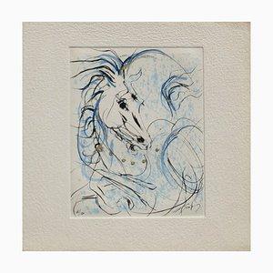 Pferdekopf von Jean-Marie Guiny