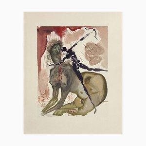 Divine Comedy Hell 12 - The Minotaurus von Salvador Dali