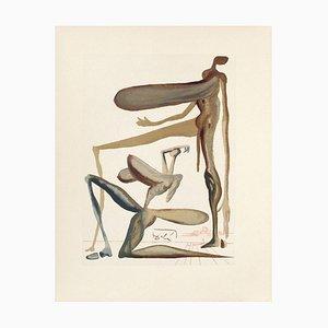 Divine Commedia Purgatory 22 - The Prodigality von Salvador Dali