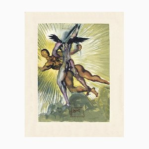 Divine Comedy Fegefeuer 08 - The Guardian Angels of the Valley von Salvador Dali