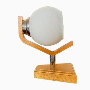 Hölzerne Wandlampe von Humpolec