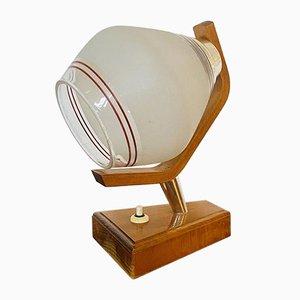 Hölzerne Tischlampe von Humpolec