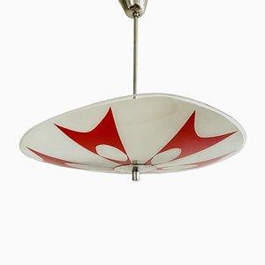 Rote Brüssel Lampe von Napako