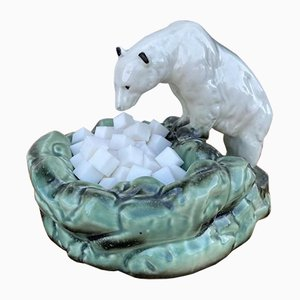 Nora Polar Bear Ashtray or Sugar Bowl from Ditmar Urbach