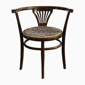 Wiener Bugholz Stuhl im Jugendstil, 1920er