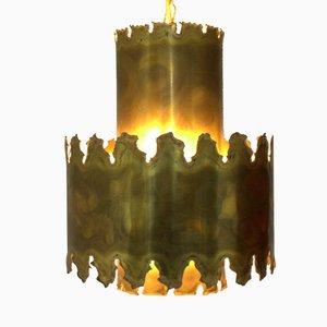 Lampe à Suspension Brutaliste par Svend Aage Holm Sørensen pour Holm-Sørensen, Danemark, 1960s