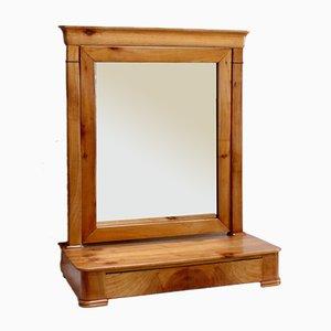 Restoration Period Cherrywood Psyche Cabinet, 1800s