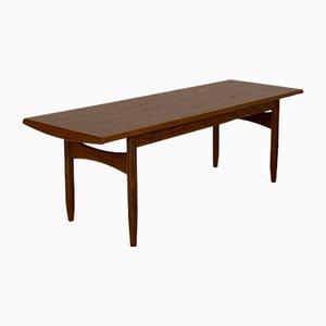 Table Basse en Teck, 1960s