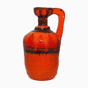 Vaso in ceramica smaltata, anni '70