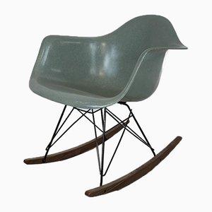 Sedia a dondolo RAR di Charles & Ray Eames per Herman Miller, anni '50