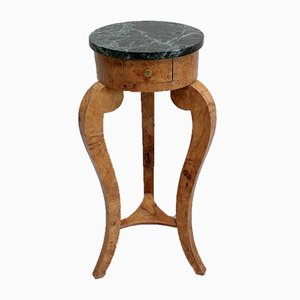 Restoration Period Sellette or Side Table, 1800s