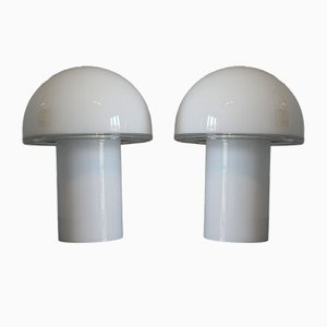 Vintage Onfale Table Lamps by Luciano Vistosi for Artemide, Set of 2