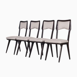 Italian Dining Chairs by Vittorio Dassi, 1950s, Set of 12