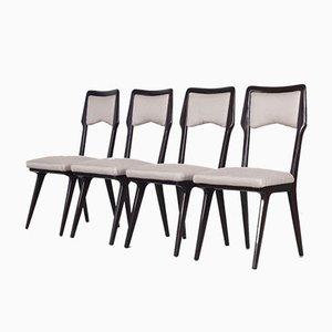 Italienische Esszimmerstühle von Vittorio Dassi, 1950er, 12er Set