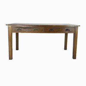 Table de Préparation Vintage en Chêne