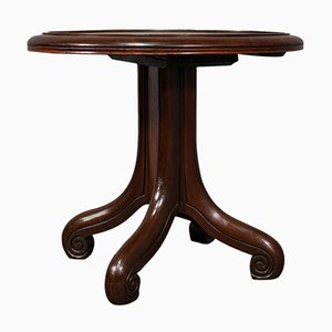 Antique English Mahogany Library Side Table, 1850s