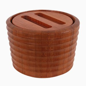 Danish Modern Teak Ice Bucket by A. Q. Scanlook, 1960s