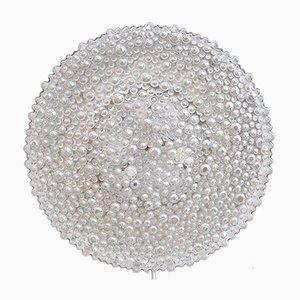 Vintage Bubble Glas Wandleuchte von Staff