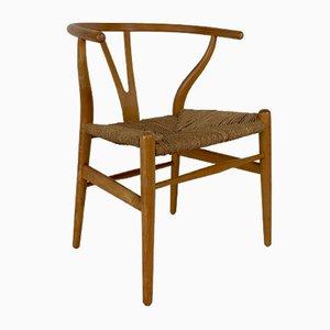 Vintage Wishbone Stuhl von Hans Wegner für Carl Hansen & Son