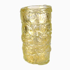 Jarrón 24kt de vidrio dorado de Murano, 2021