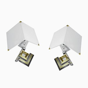 Table Lamps by Willy Rizzo, 1970s, Set of 2