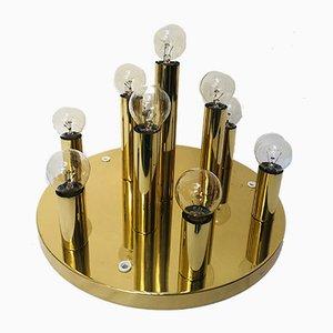 Brass Ceiling Lamp from Sölken, 1980s