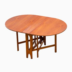 Scandinavian Teak Folding Dining Table