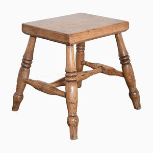 Antique Oak Stool