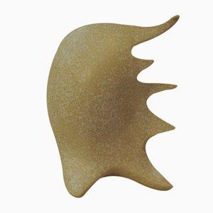 Italienische Keramik Shell Tischlampe von Antonia Campi