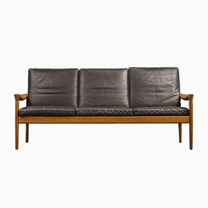 Danish Teak Sofa by Illum Wikkelso for Glostrup, 1960s