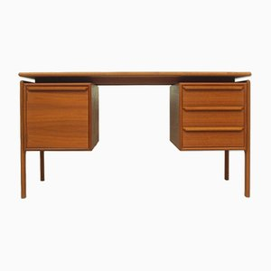 Danish Teak Desk by G.V. Møbler, 1960s