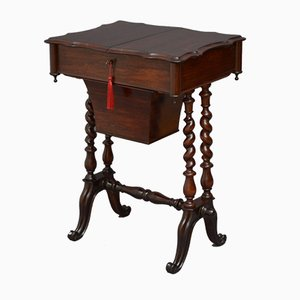 Victorian Rosewood Worktable