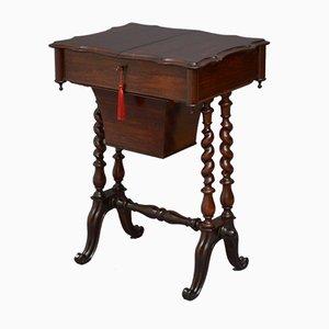 Viktorianischer Werktisch aus Palisander