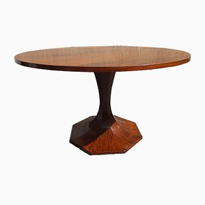 Charles De Carli Style Rosewood Dining Table by Carlo De Carli, 1950s