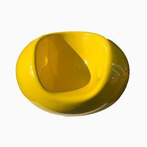 Gelber Pastil Stuhl