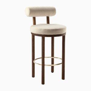 Chaise de Bar Moca par Studio Rig pour Collector, Set de 2