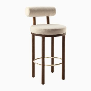 Moca Bar Chair by Studio Rig for Collector, Set of 2